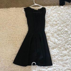 Arden b black skater dress